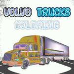 Оцветяване на камиони Volvo игра