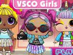 VSCO Baby Dolls game