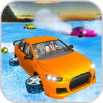 Gioco di Water Surfer Car Floating Beach Drive
