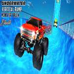Water Surfer Verticale Ramp Monster Truck Game spel