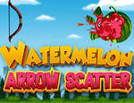 Watermelon Arrow Scatter Game