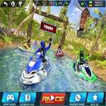 Wasser Kraft Boot Racer 3D Spiel