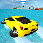 Su sörfü Araba Oyunu
