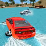 Water Slide Car Race game