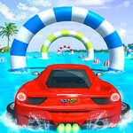 Su Sörf Araba Stunts Araba Yarışı Oyunu