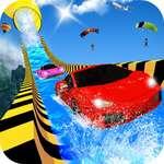 Water Slide Car Racing aventura 2020 juego