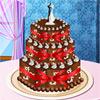 Сватбена торта Деко игра