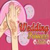 Uñas de boda princesa juego