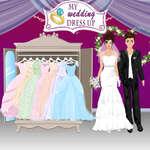 Esküvői öltöztetős játék