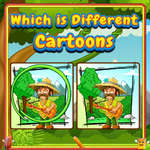 Which Is Different Cartoon game