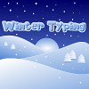 Winter te typen spel