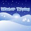 Typage d'hiver jeu