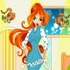 Camera di Winx Bloom gioco