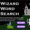Wizard Word Search game