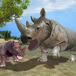 Cazador de rinocerontes salvajes juego