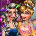 игра Ведьма принцесса макияж