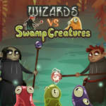 Wizards vs Swamp Creatures joc