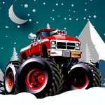 Winter Monster Trucks Rennen Spiel