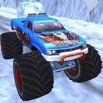De Vrachtwagen van het Monster van de winter spel