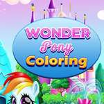 Wonder Pony Coloring game