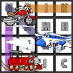 Word Search Transport spel