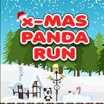 Noël Panda Run jeu