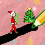 Коледа рисуване игра