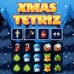 Xmas Tetriz game