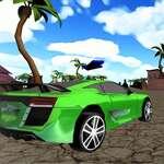 Xtreme Beach Car Racing juego