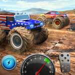 Xtreme 3D грандиозно чудовище камион offroad скок игра