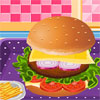 Yummy Hamburger Cooking game