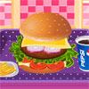 Deliciosa hamburguesa juego