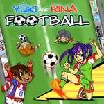 Yuki a Rina Futbal hra