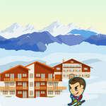 Ски Зиг Заг игра