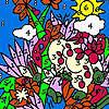 Zoo-Garten-Färbung Spiel