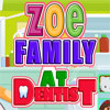 Zoe Family at Dentist game
