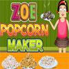 Zoe Popcorn Maker oyunu