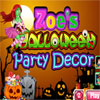 Zoes Halloween Party Decor game