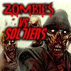 Zombies vs soldaten 3D spel