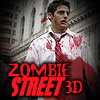 Zombie 3D calle juego