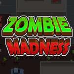 Zombie šialenstvo hra