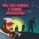 Zombie Apocalyps Quiz spel