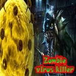 Asesino de virus zombies juego